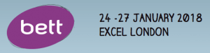 BETT Logo showing exhibition dates 24-27th January 2018